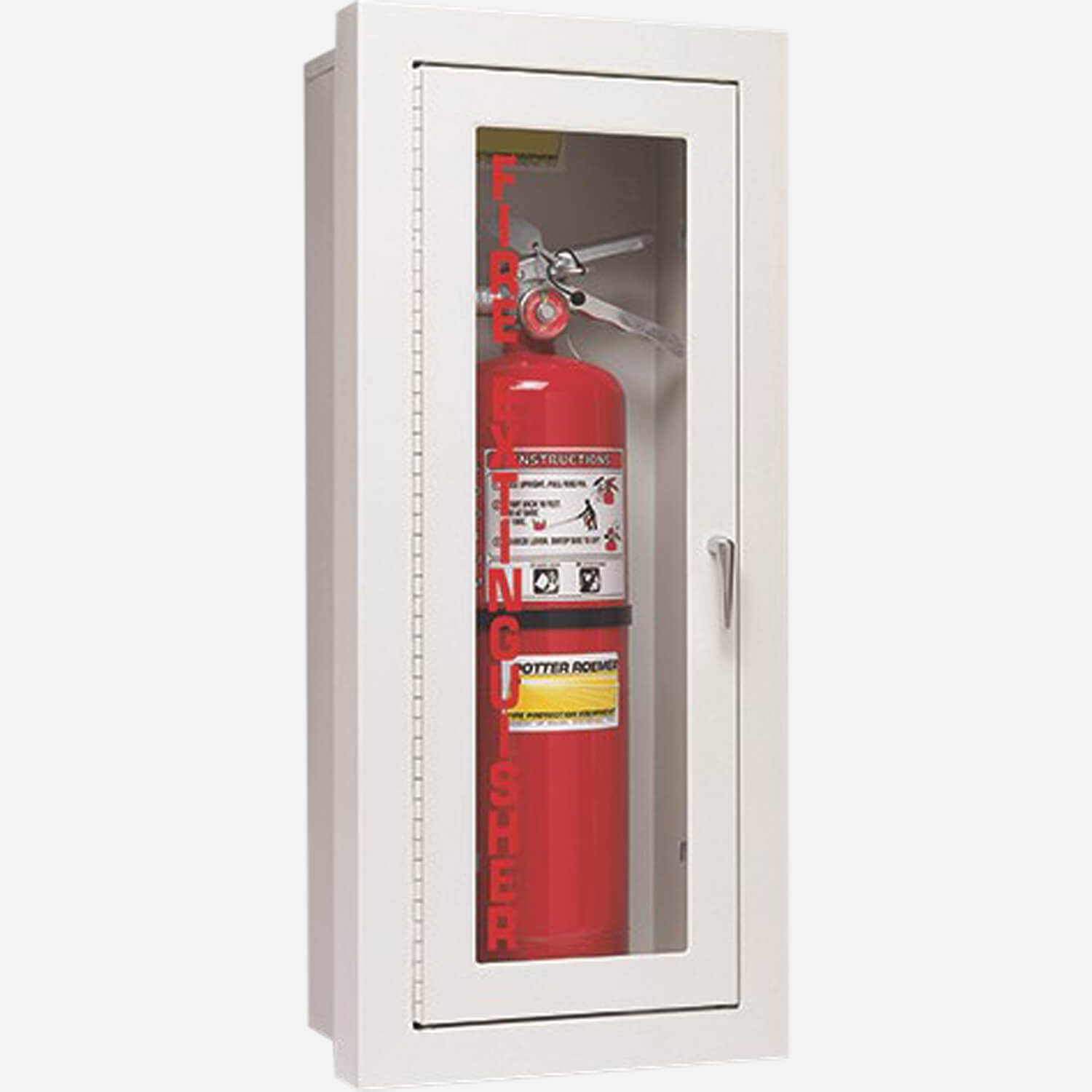 Fire Rated 1700 Series Fire Extinguisher Cabinet - Potter Roemer