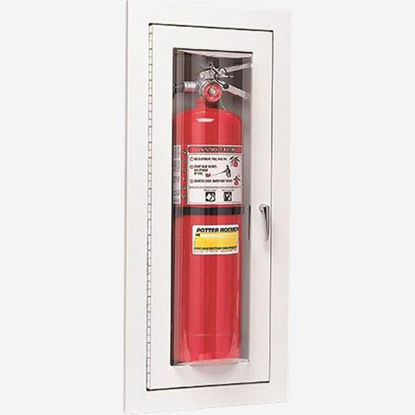 Fire Extinguisher Bubble Door Cabinet Potter Roemer