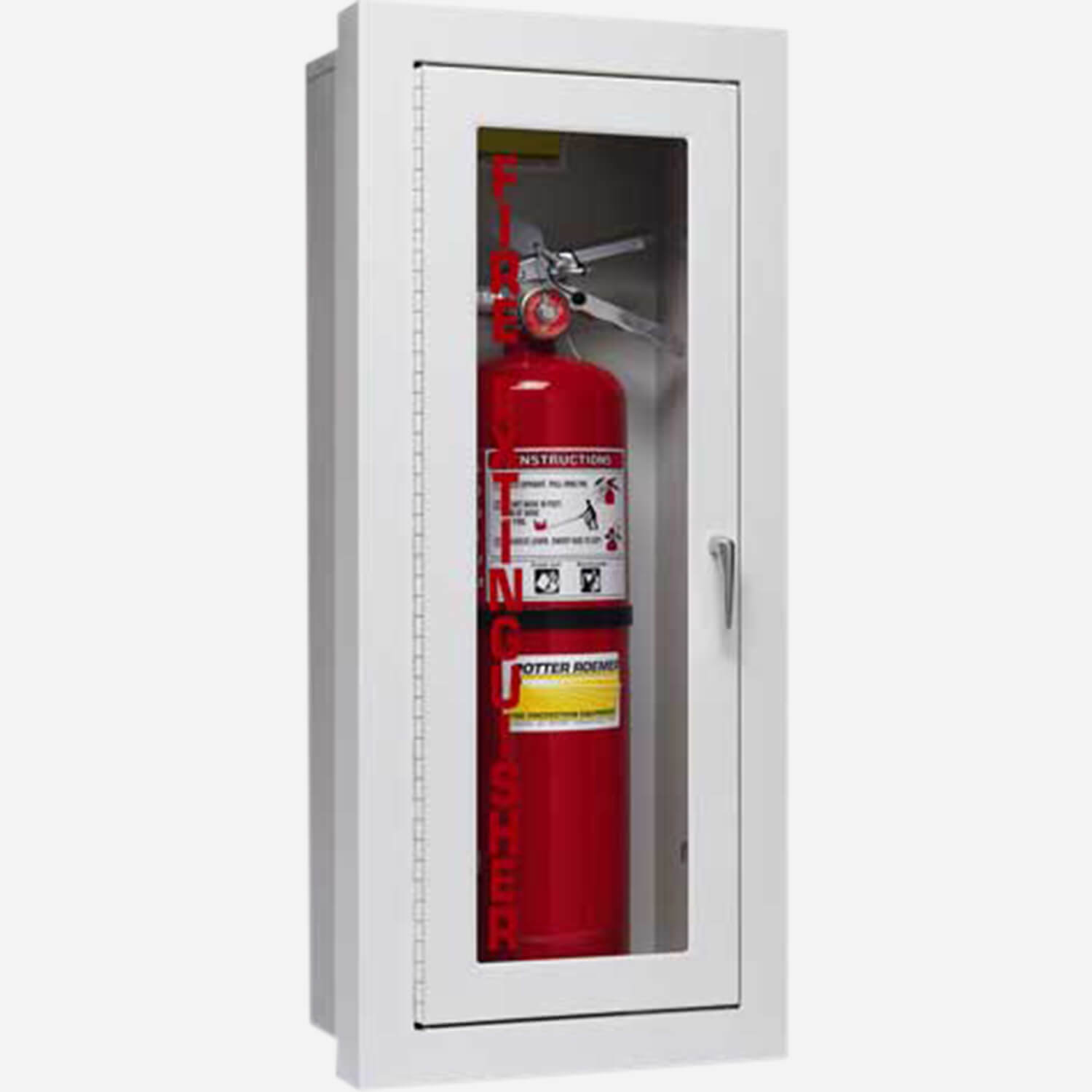 Amazing Semi Recessed Alta Fire Extinguisher Cabinets Design Ideas