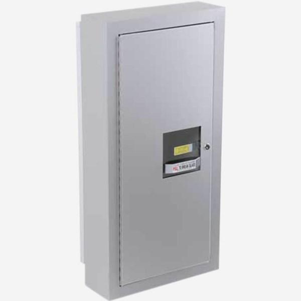 SemiRecessed Alta Fire Extinguisher Cabinets Potter Roemer - Semi recessed fire extinguisher cabinet