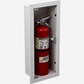 Recessed Buena Fire Extinguisher Cabinets