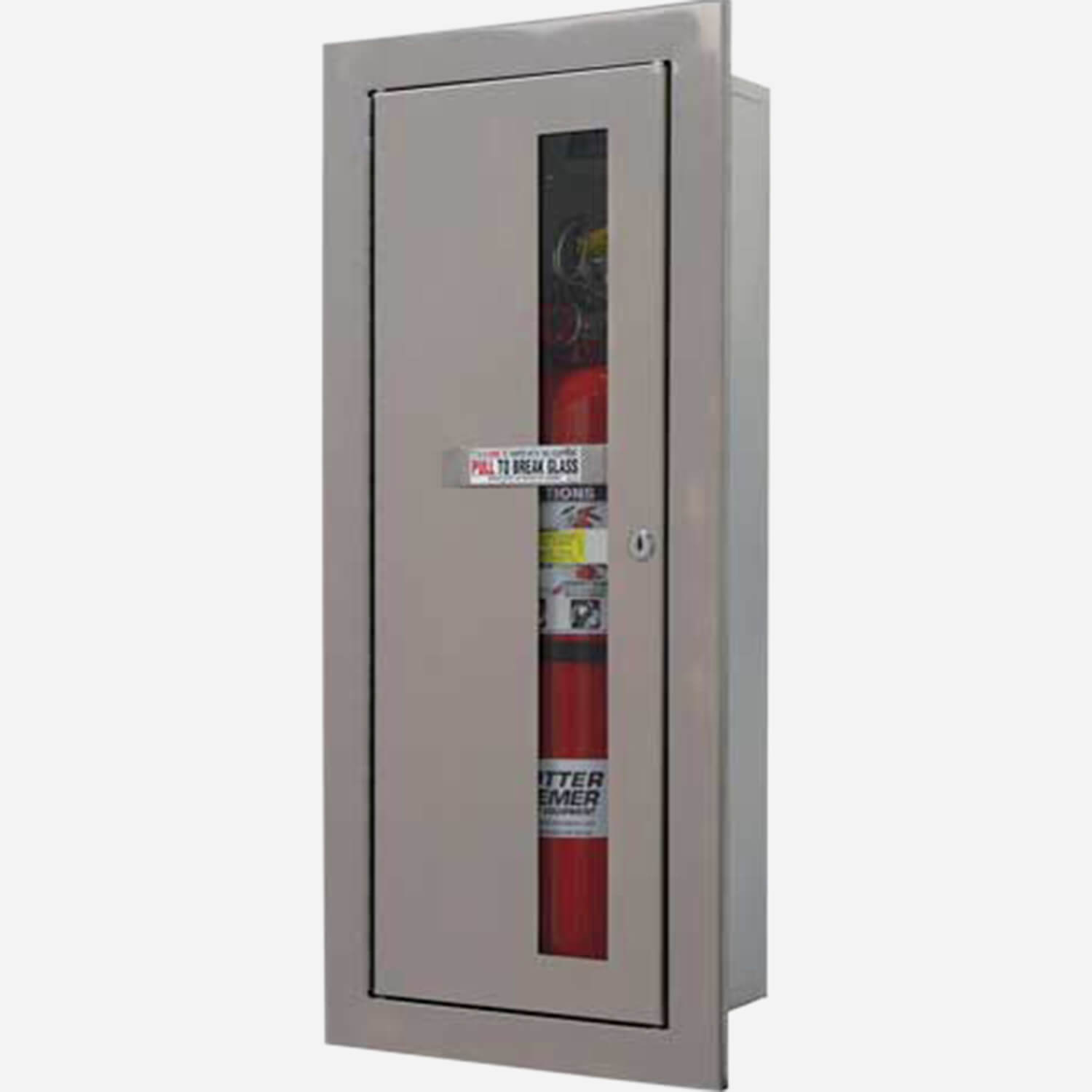 Captivating Fire Rated Recessed Alta Fire Extinguisher Cabinets Photo