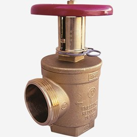 Female x Male,  Adjustable Pressure Restricting Angle Hose Valve