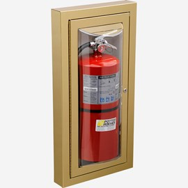 Semi-Recessed Loma Fire Extinguisher Cabinet