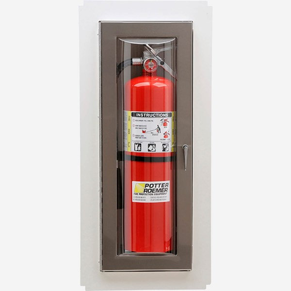 Potter Roemer Fire Extinguisher Cabinet Instructions