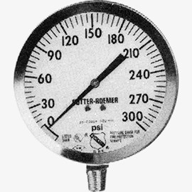 Pressure Gauge for Fire Sprinkler or Standpipe System