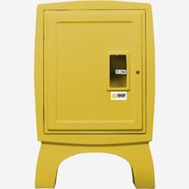 1 5 Quot Fire Hose Rack And Extinguisher Fiberglass Cabinet