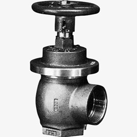"2.5"" Female x Female, Angle, Non-Adjustable Pressure Regulating Valve"