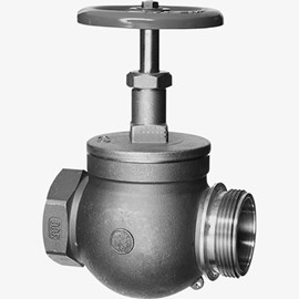 Female x Male, Straight Globe Hose Valve