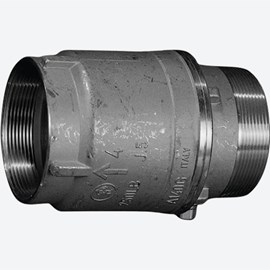 "4"" Male x Female Check Valve"