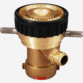 Adjustable Brass Master Stream Fire Nozzle