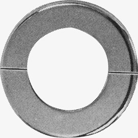 Valve Pipe Flange with Stamped Steel Split Ring