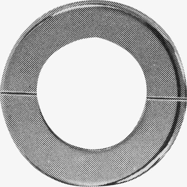 Stamped Steel Flanges : Valve pipe flange with stamped steel split ring potter