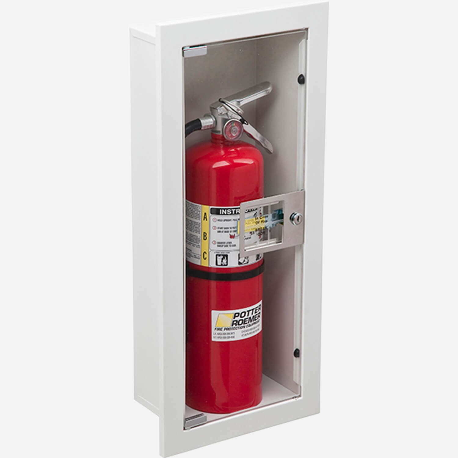 fire rated recessed buena fire extinguisher cabinets