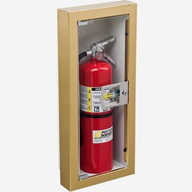 Fire Rated Semi-Recessed Buena Fire Extinguisher Cabinet