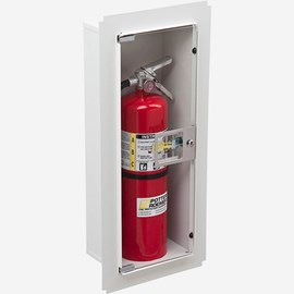 Fire Rated Trimless Buena Fire Extinguisher Cabinet