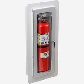 Fire Rated Trimless Loma Fire Extinguisher Cabinet