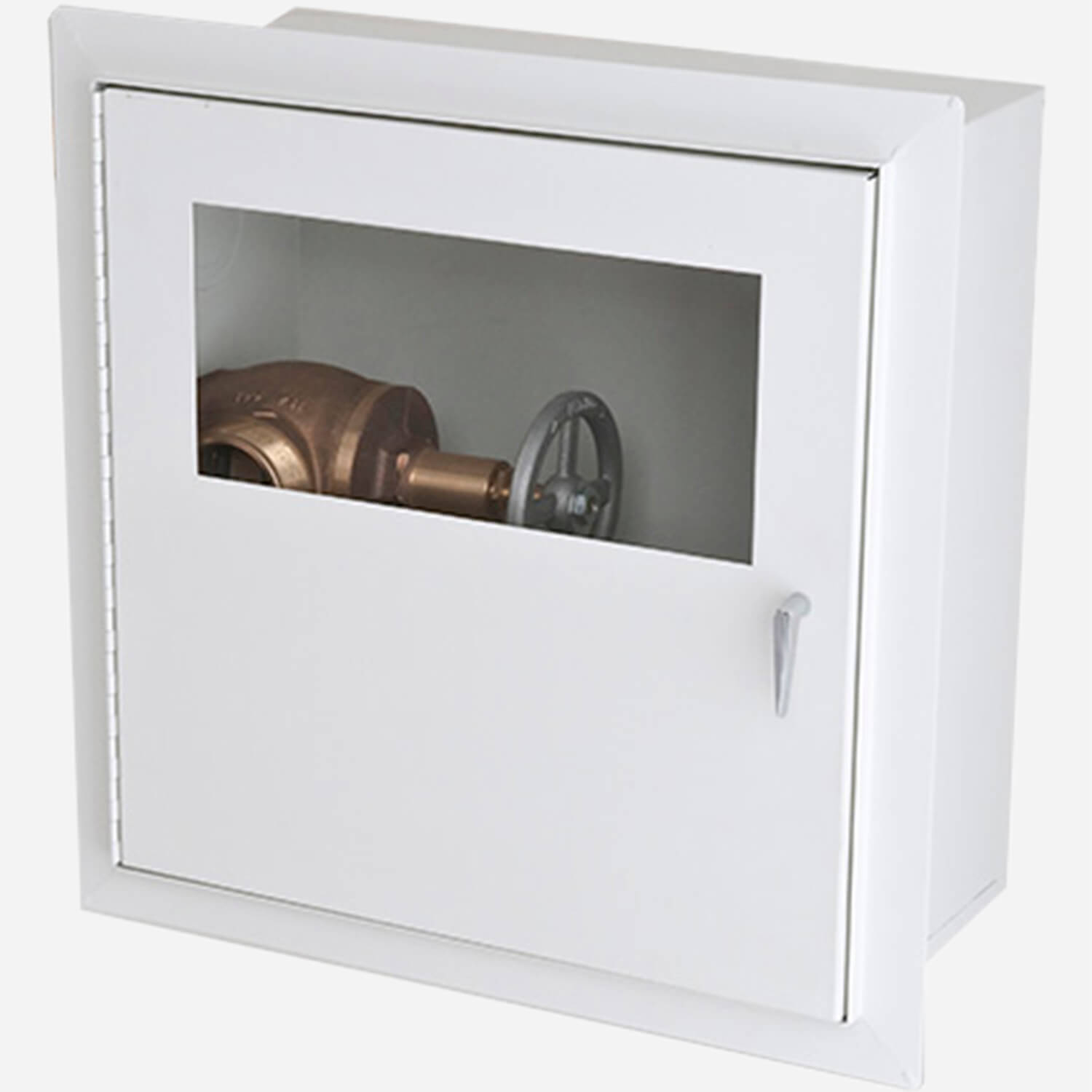 Fire Rated Trimless Alta Valve Cabinet - Potter Roemer