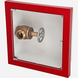 Fire Rated Semi-Recessed Buena Valve Cabinet