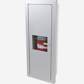 Fire Rated Semi-Recessed Alta Valve & Fire Extinguisher Cabinet