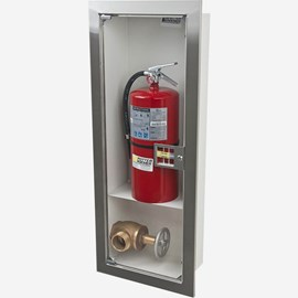 Fire Rated Recessed Buena Fire Valve - Extinguisher Cabinet
