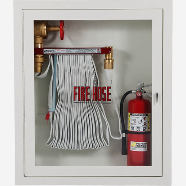 Fire Rated 2 5 X 1 5 Quot Fire Hose Rack And Extinguisher