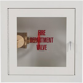 Fire Rated Fire Dept. Valve Cabinet