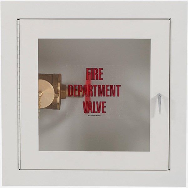 Fire Rated Fire Dept Valve Cabinet Potter Roemer