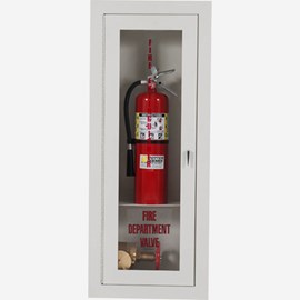2.5 Inch Fire Dept. Valve and Extinguisher Cabinet - Vertical