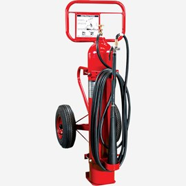 Carbon Dioxide Self-Expellent Wheeled Fire Extinguisher